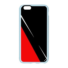 Black and red design Apple Seamless iPhone 6/6S Case (Color)