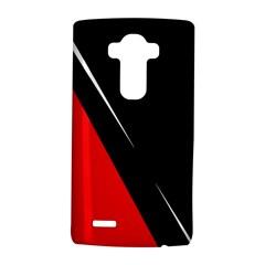Black and red design LG G4 Hardshell Case
