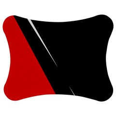 Black and red design Jigsaw Puzzle Photo Stand (Bow)