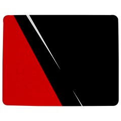 Black and red design Jigsaw Puzzle Photo Stand (Rectangular)