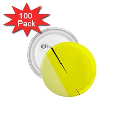 Yellow design 1.75  Buttons (100 pack)