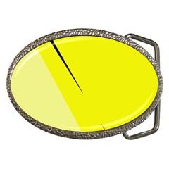 Yellow design Belt Buckles