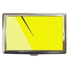 Yellow design Cigarette Money Cases