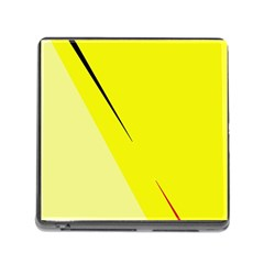 Yellow design Memory Card Reader (Square)