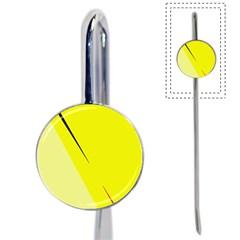 Yellow design Book Mark
