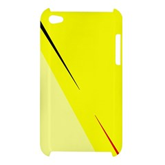 Yellow design Apple iPod Touch 4