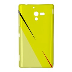 Yellow design Sony Xperia ZL (L35H)