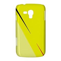Yellow design Samsung Galaxy Duos I8262 Hardshell Case
