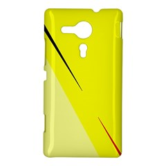 Yellow design Sony Xperia SP