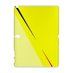 Yellow design Samsung Galaxy Note 10.1 (P600) Hardshell Case