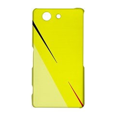 Yellow design Sony Xperia Z3 Compact