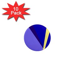 Geometrical abstraction 1  Mini Magnet (10 pack)