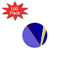 Geometrical abstraction 1  Mini Buttons (100 pack)
