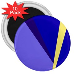 Geometrical abstraction 3  Magnets (10 pack)