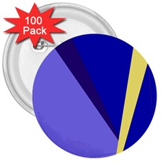 Geometrical abstraction 3  Buttons (100 pack)