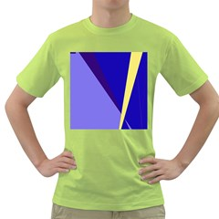 Geometrical abstraction Green T-Shirt