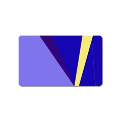 Geometrical abstraction Magnet (Name Card)