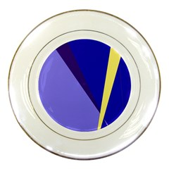 Geometrical abstraction Porcelain Plates