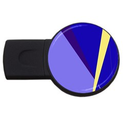 Geometrical abstraction USB Flash Drive Round (4 GB)