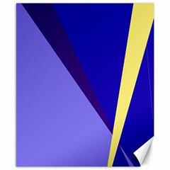 Geometrical abstraction Canvas 8  x 10