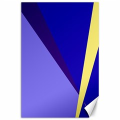 Geometrical abstraction Canvas 24  x 36