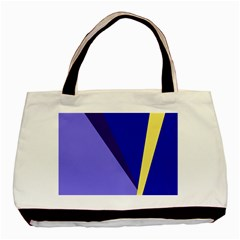 Geometrical abstraction Basic Tote Bag (Two Sides)