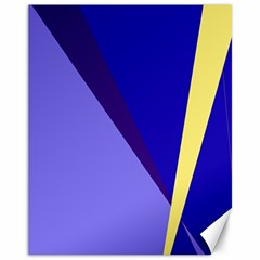 Geometrical abstraction Canvas 11  x 14