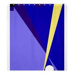 Geometrical abstraction Shower Curtain 66  x 72  (Large)