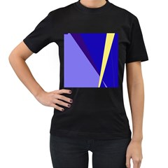 Geometrical abstraction Women s T-Shirt (Black)