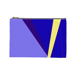 Geometrical abstraction Cosmetic Bag (Large)
