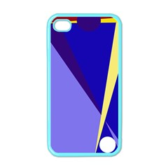 Geometrical abstraction Apple iPhone 4 Case (Color)
