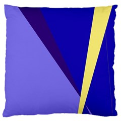 Geometrical abstraction Large Cushion Case (One Side)