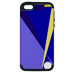Geometrical abstraction Apple iPhone 5 Hardshell Case (PC+Silicone)