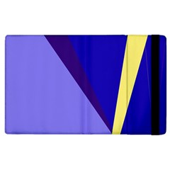 Geometrical abstraction Apple iPad 2 Flip Case