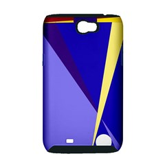 Geometrical abstraction Samsung Galaxy Note 2 Hardshell Case (PC+Silicone)