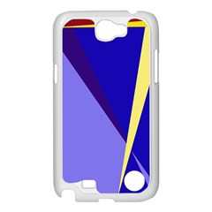 Geometrical abstraction Samsung Galaxy Note 2 Case (White)