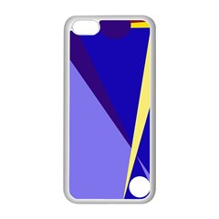 Geometrical abstraction Apple iPhone 5C Seamless Case (White)