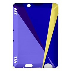 Geometrical abstraction Kindle Fire HDX Hardshell Case