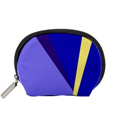 Geometrical abstraction Accessory Pouches (Small)