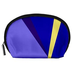 Geometrical abstraction Accessory Pouches (Large)