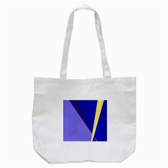 Geometrical abstraction Tote Bag (White)