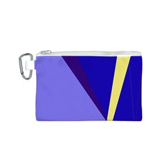 Geometrical abstraction Canvas Cosmetic Bag (S)