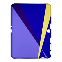 Geometrical abstraction Samsung Galaxy Tab 4 (10.1 ) Hardshell Case