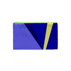 Geometrical abstraction Cosmetic Bag (XS)