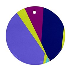 Geometrical abstraction Ornament (Round)