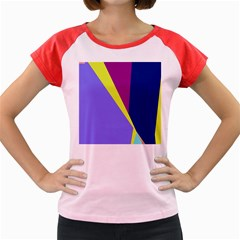Geometrical abstraction Women s Cap Sleeve T-Shirt