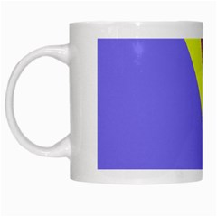 Geometrical abstraction White Mugs