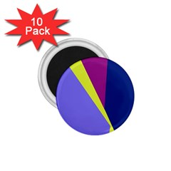 Geometrical abstraction 1.75  Magnets (10 pack)