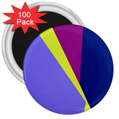 Geometrical abstraction 3  Magnets (100 pack)