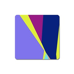 Geometrical abstraction Square Magnet